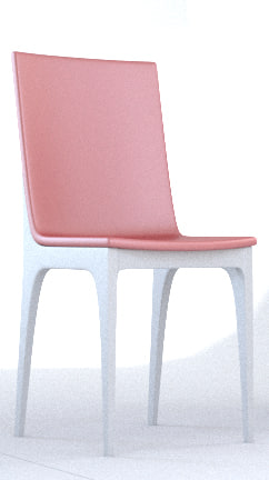 3d simple chair