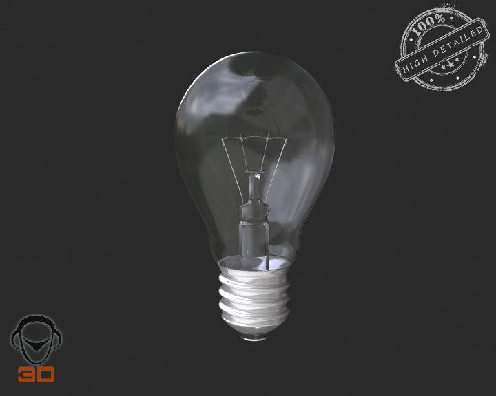 3d model of bulb