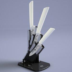 knives 3d max