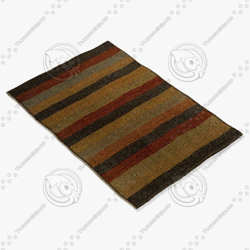 momeni rugs abstract dr03mti 3d model