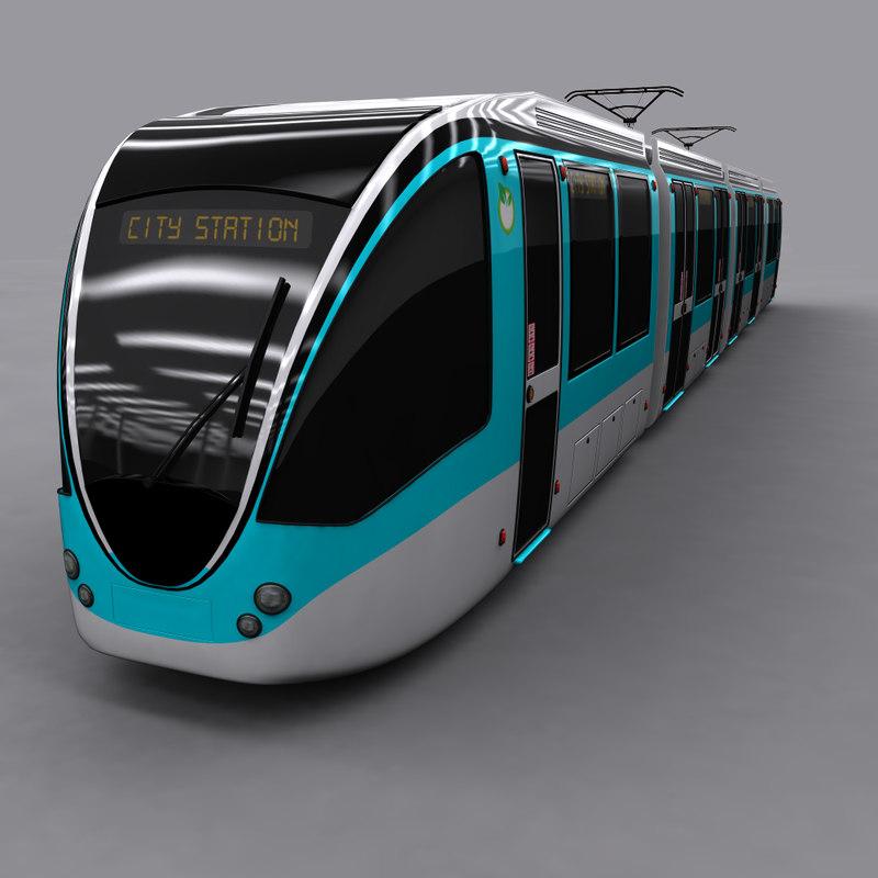 tram city 3d x