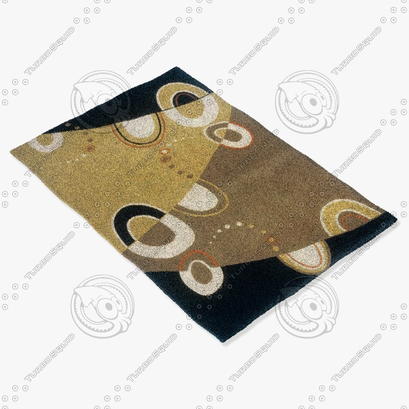 momeni rugs abstract el21gry 3d 3ds
