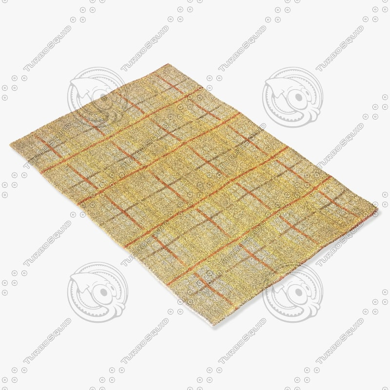momeni rugs abstract el22ivy 3d model
