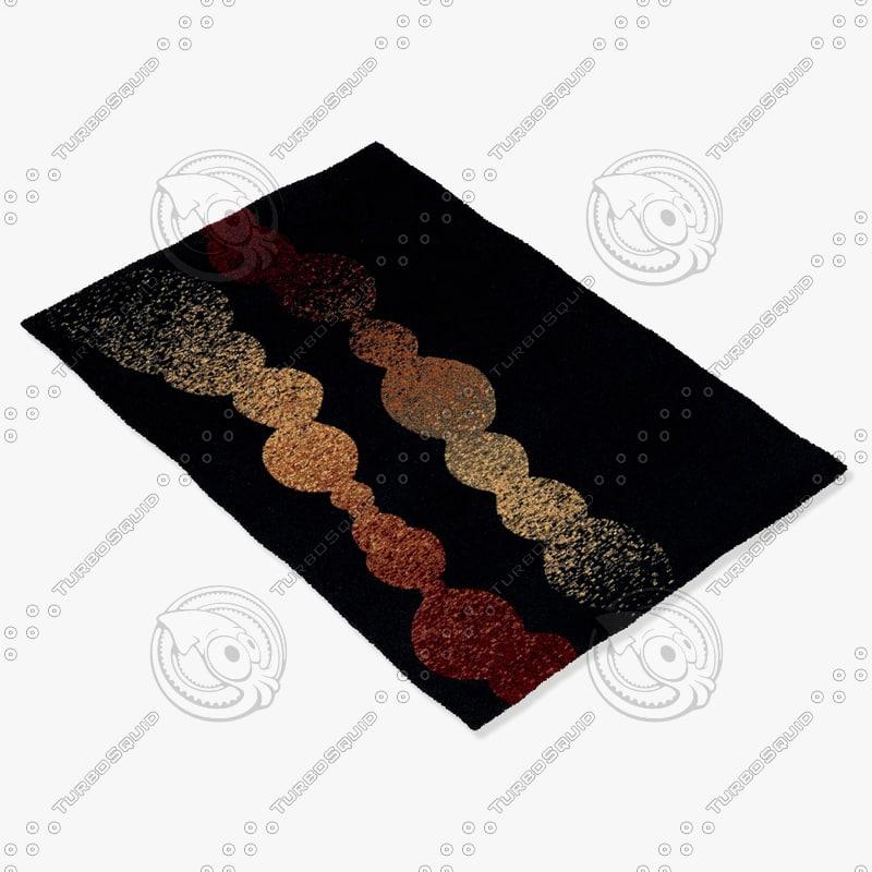 max momeni rugs abstract el27blk