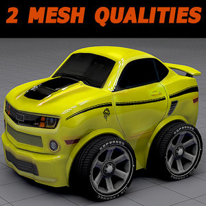 muscle car 3ds