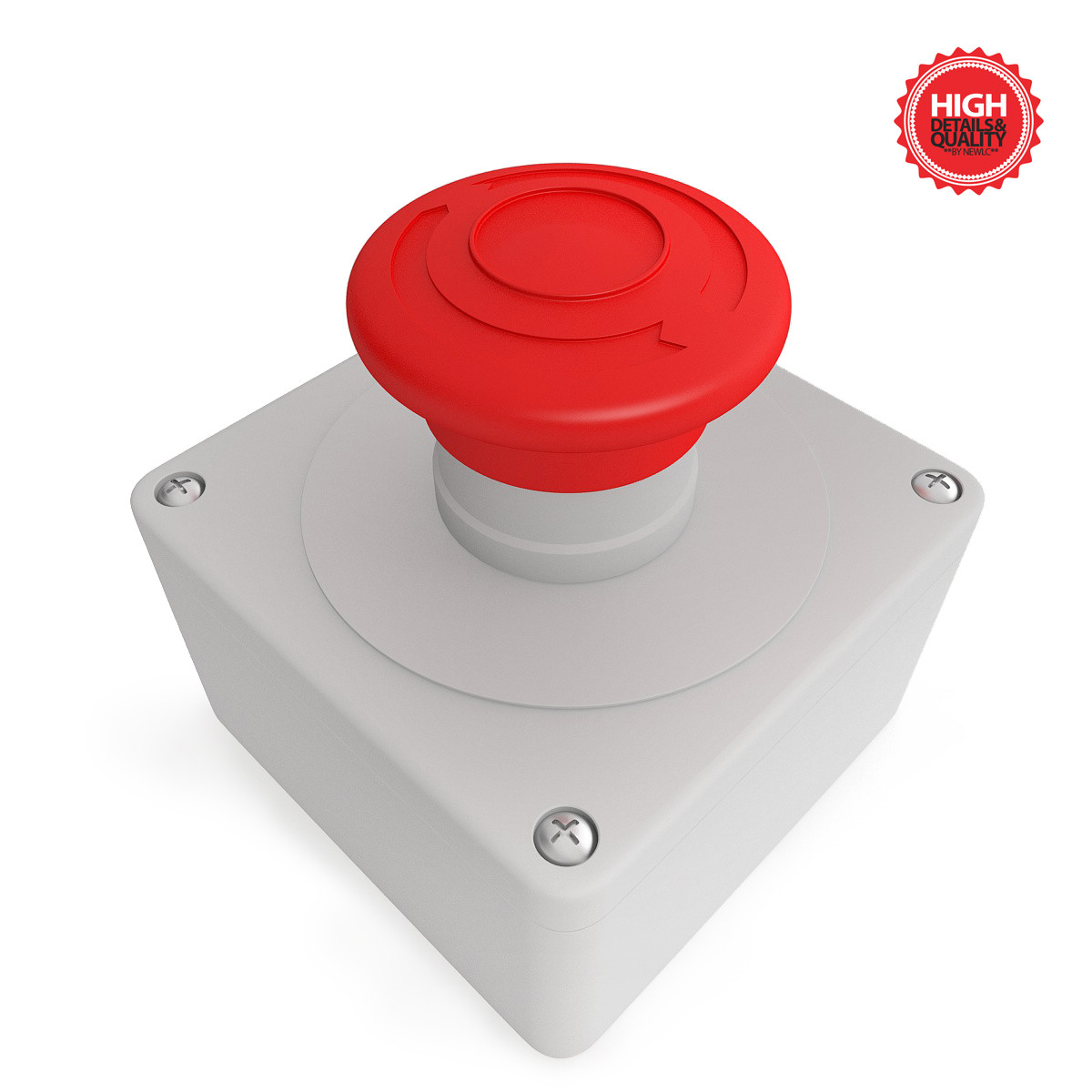 button alert red 3ds