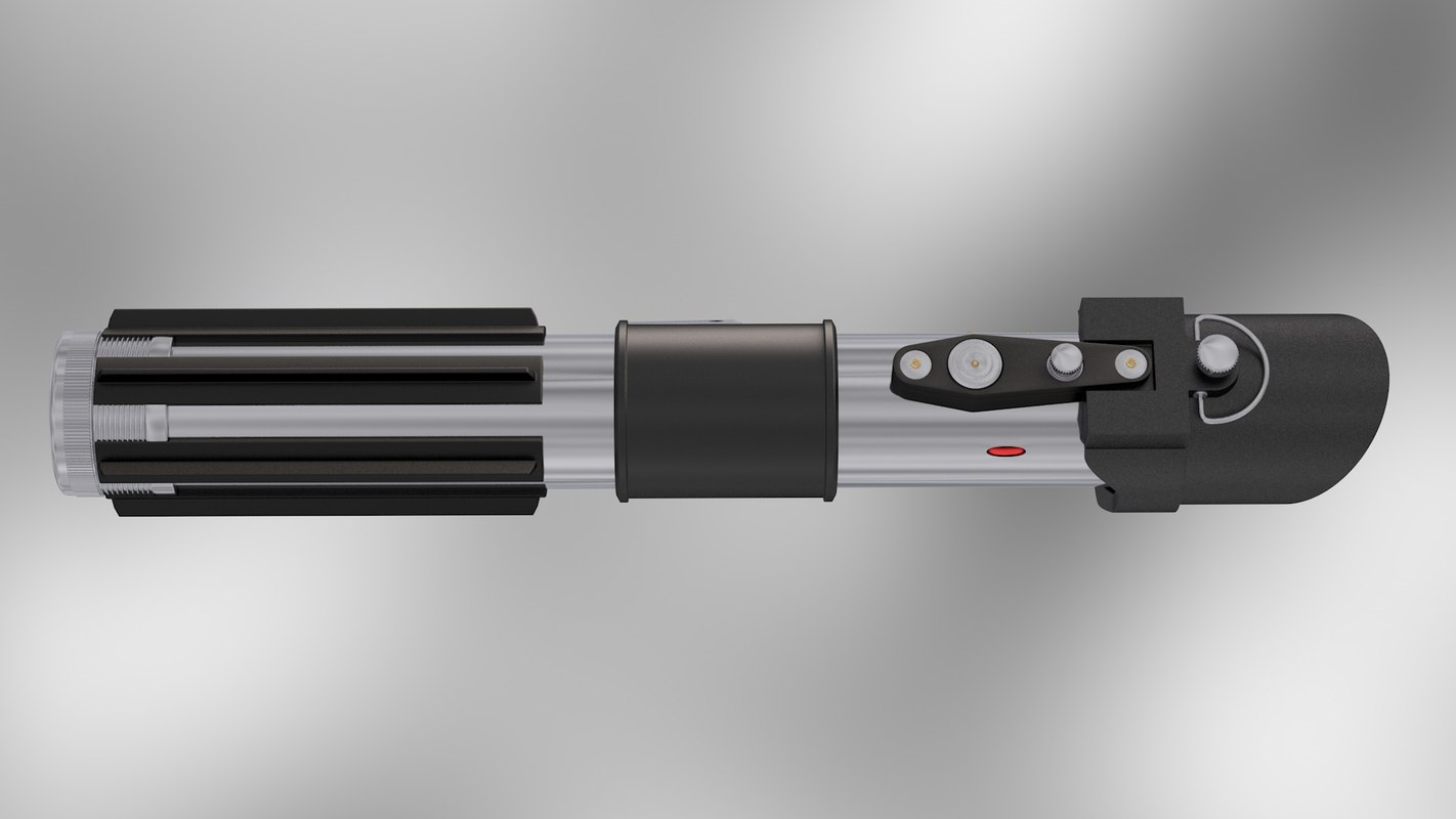 3ds darth vader lightsaber