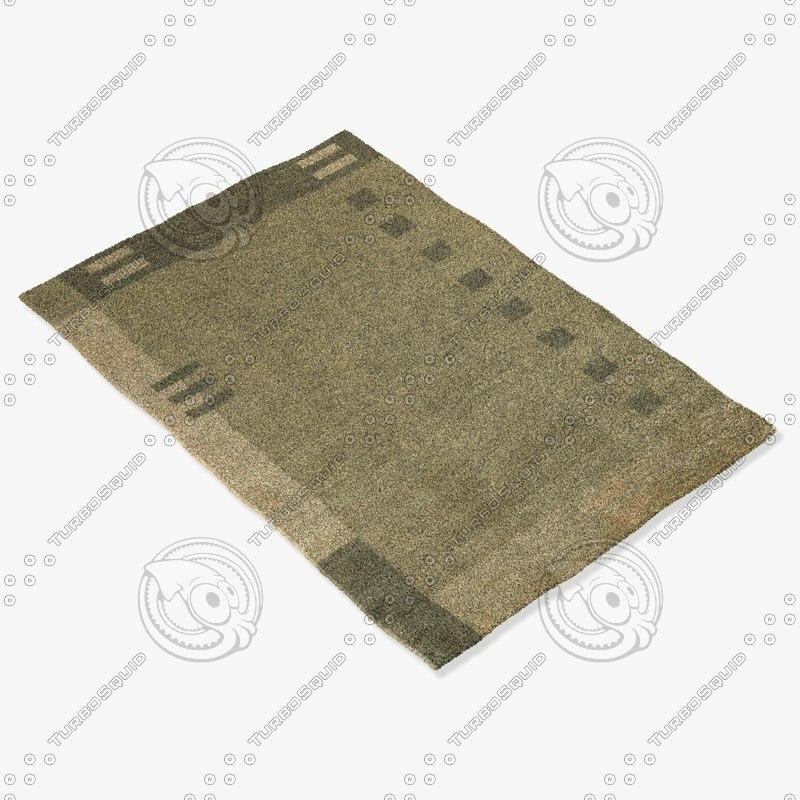 3d model momeni rugs abstract gm10chr