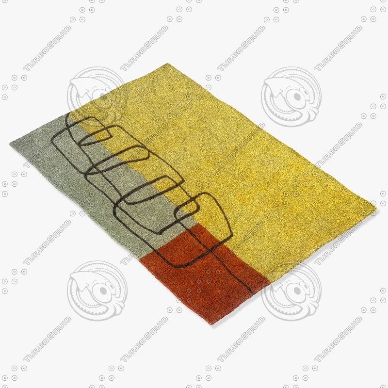 3d model of momeni rugs abstract innovin11cha