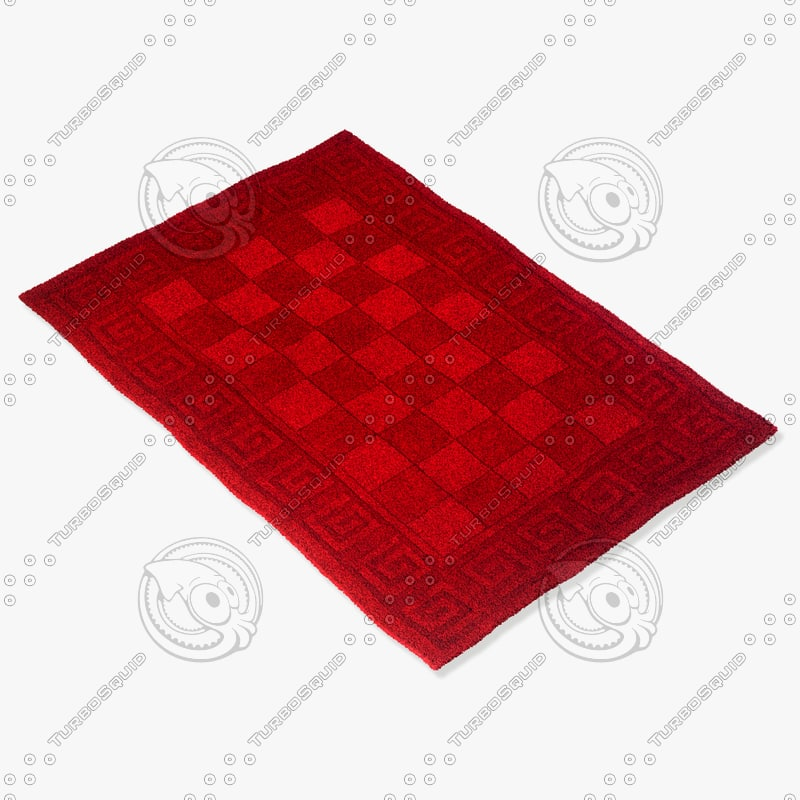 3d momeni rugs abstract metromt03bur model