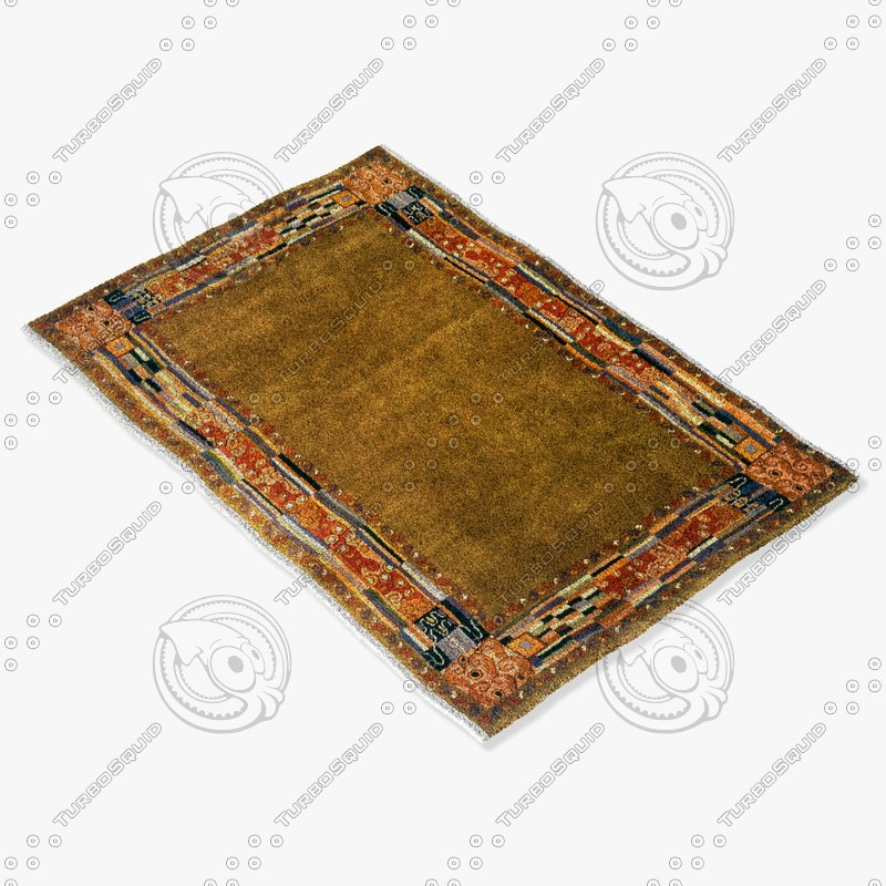 3d model momeni rugs abstract nw03ogn