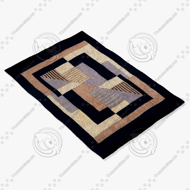 3d momeni rugs abstract nw06blk
