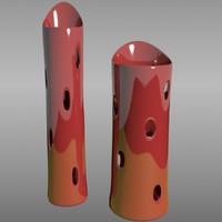 vases 3d 3ds