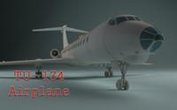TU 134 Airplane