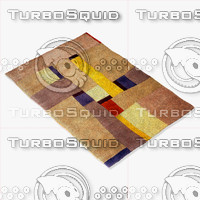 3d model momeni rugs abstract nw23gry