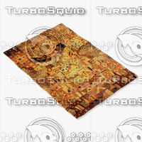 3d model momeni rugs abstract nw25mti