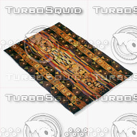 3d momeni rugs abstract nw33blk model