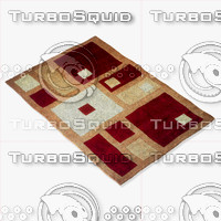 momeni rugs abstract nw50red 3d 3ds