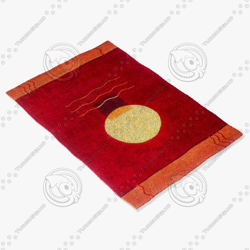momeni rugs abstract nw70red obj