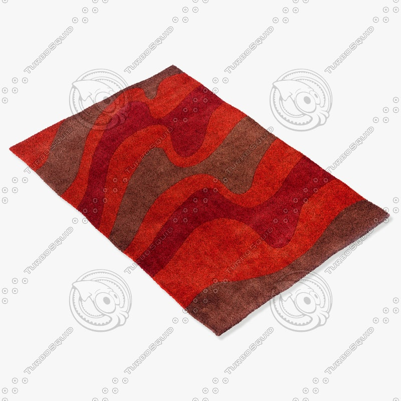 3d model momeni rugs abstract nw82tel