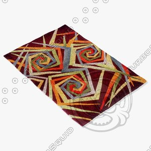 momeni rugs abstract nw84mti 3ds