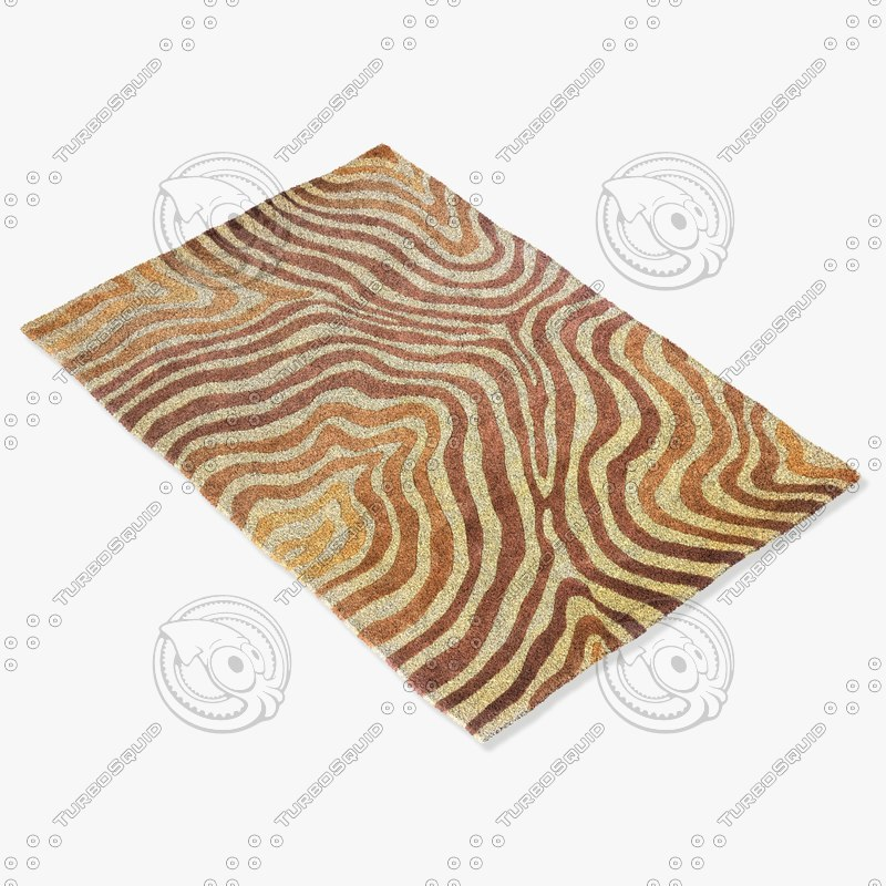 3d model momeni rugs abstract nw86lbn