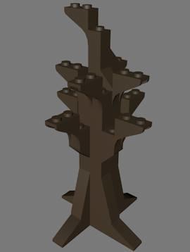 3dsmax lego dead tree