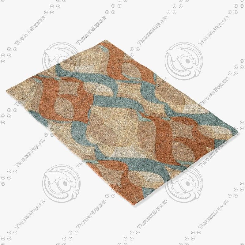3d momeni rugs abstract nw97mti model