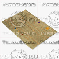 3d model momeni rugs abstract nw101sag