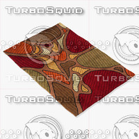 3d model momeni rugs abstract nw102tau