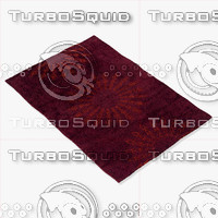 3d model momeni rugs abstract nw107bur