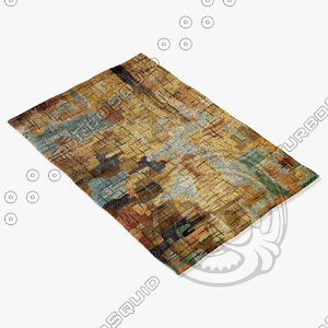 momeni rugs abstract nw112mti 3ds