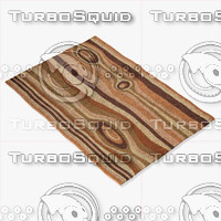momeni rugs abstract nw118ear 3d model