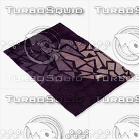 momeni rugs abstract nw119pur 3d obj