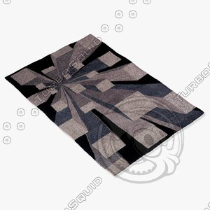 3d momeni rugs abstract nw128got model