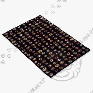 3ds momeni rugs abstract odyssod01blk