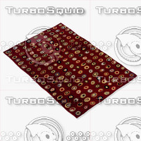 momeni rugs abstract odyssod01bur 3d model