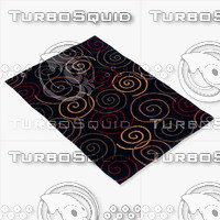 3d momeni rugs abstract odyssod05blk model