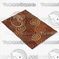momeni rugs abstract odyssod05brn 3d max
