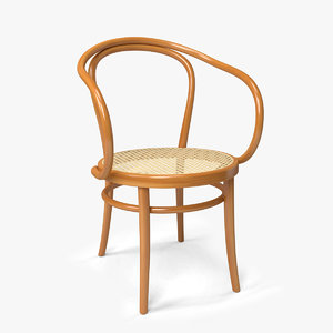 3d model thonet chair b9