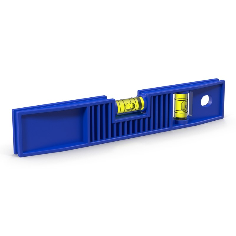 3d model of spirit level