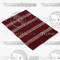 momeni rugs abstract vr16red 3d model