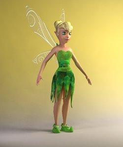 3d fairy cartoon model