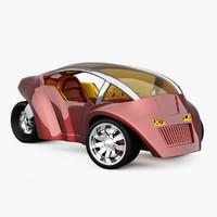 concept vehicles 3d model