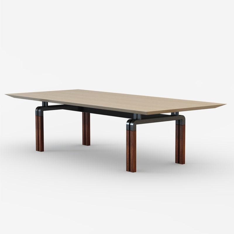 table desk 3d 3ds