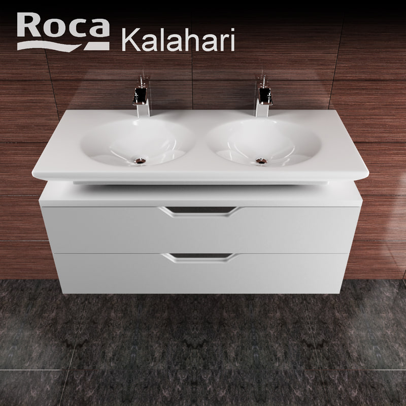 3d model of roca kalahari for Roca kalahari