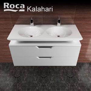 3d model of roca kalahari