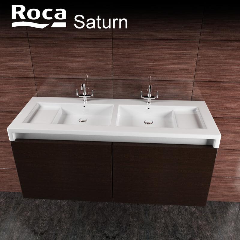 3d model roca saturn