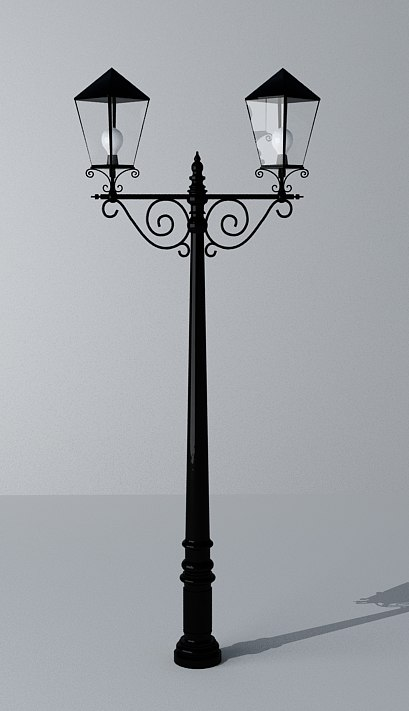 3ds max street lighting