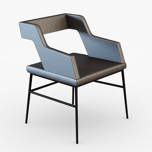 3d max mariani sissi chair